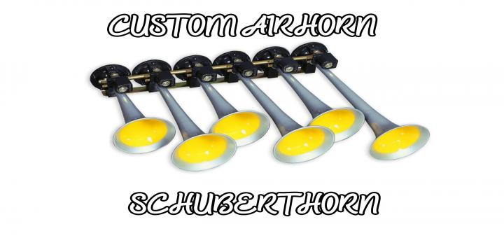 Photo of Custom Airhorn Schubert Horn ETS2 1.39