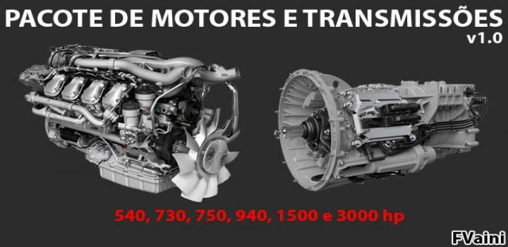 Photo of Engines And Transmissions Package V1.0 ETS2 1.40