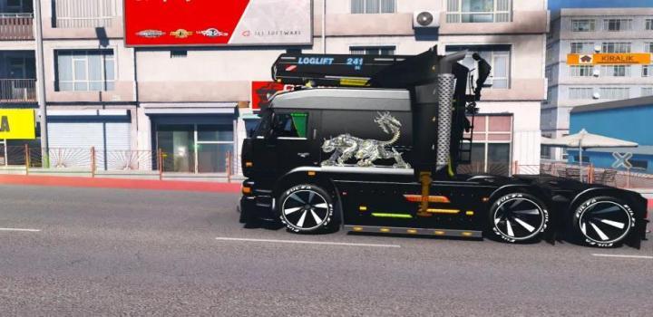 Photo of Kamaz 6460 Turbo Diesel V8 ETS2 1.40