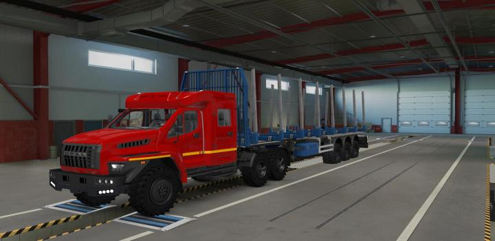 Photo of Off-Road Chassis for Standard Trailers V1.2 ETS2 1.40