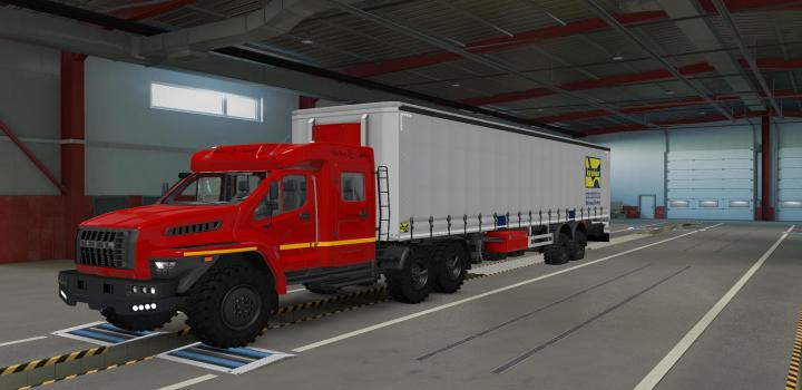 Photo of Offroad Chassis for Standard Trailers V1.3 ETS2 1.40