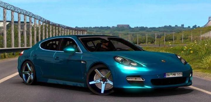 Photo of Porsche Panamera Turbo 2010 V6.0 ETS2 1.40