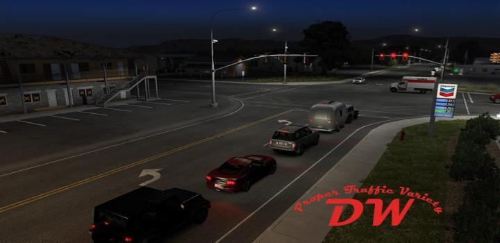Photo of Proper Traffic Variety 2/22/21 ETS2 1.40