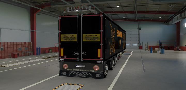 Photo of Rear Banners For Trailers ETS2 1.40