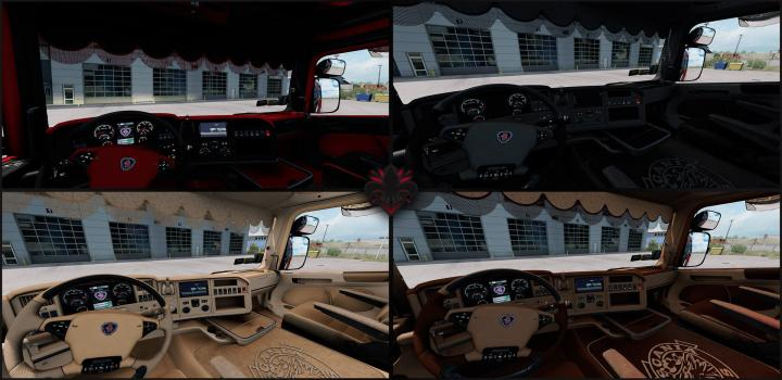 Photo of Scania Rjl Interior ETS2 1.40