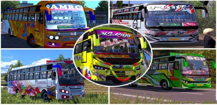 Photo of Tamilnadu Bus – 5 In 1 Mega Pack ETS2 1.40