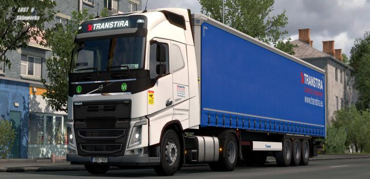 Photo of Transtira Logistics Volvo Fh Combo V1.0 ETS2 1.40