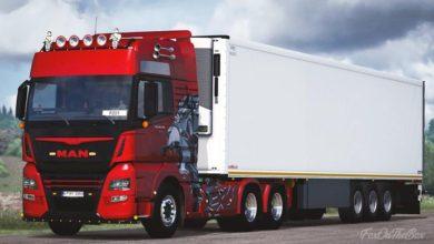 Photo of Man Tgx Euro6 Truck ETS2 1.39