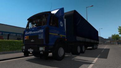 Photo of Maz 5432-6422 Truck V1.0 ETS2 1.39