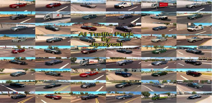 Photo of Ai Traffic Pack V10.3 ATS 1.39