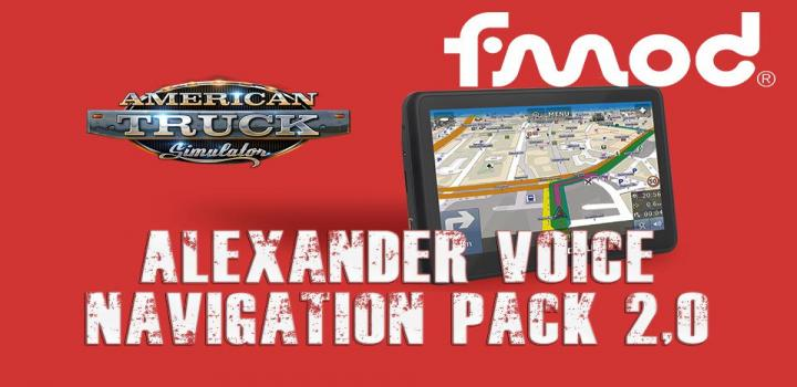 Photo of Alexander Voice Navigation Pack V2.0 ATS 1.40
