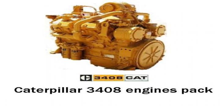 Photo of Cat 3408 Engines Pack V1.2.1 ATS 1.40