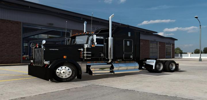 Photo of Kenworth W900 L/B Custom Truck ATS 1.40