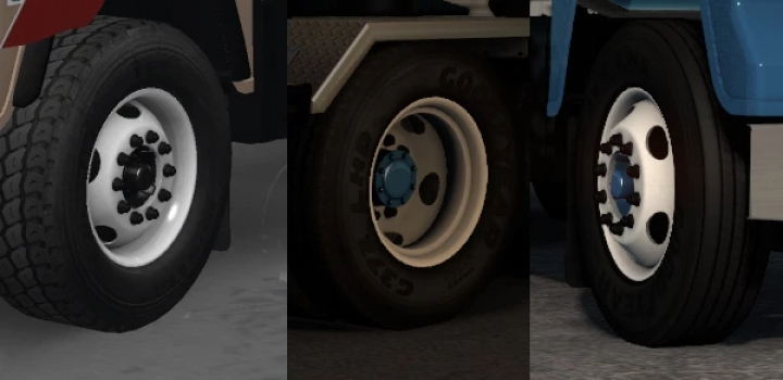 Photo of Smartys Wheel Pack V1.6 ATS 1.40