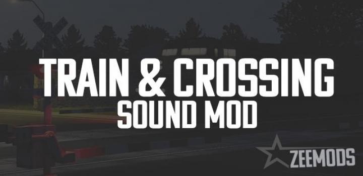 Photo of Train & Crossing Sound Mod V1.0 ATS 1.40