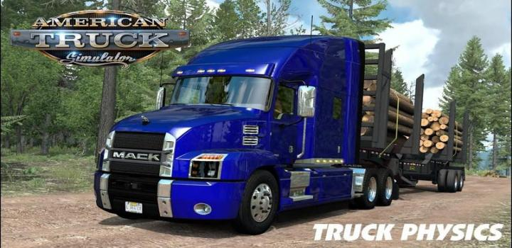 Photo of Truck Physics V0.2 ATS 1.39