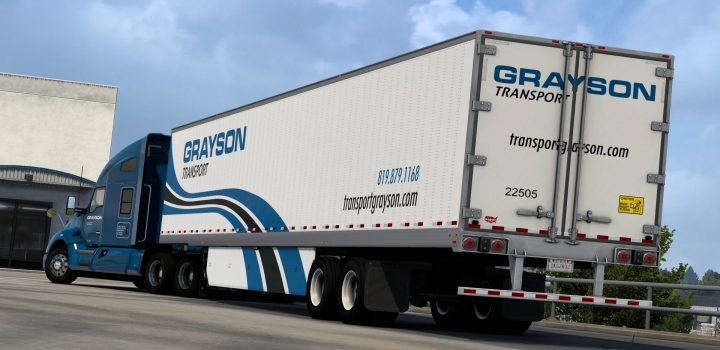 Photo of Wabash Logo For All Box Trailers ATS 1.40