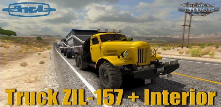 Photo of Zil-157 Truck + Interior V1.5 ATS 1.40