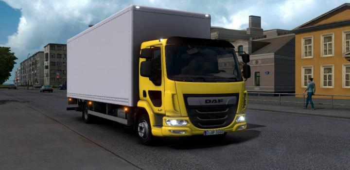 Photo of Daf Lf V0.1 ETS2 1.40