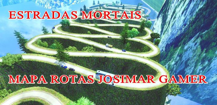 Photo of Dangerous Roads Map Rotas Josimar ETS2 1.40