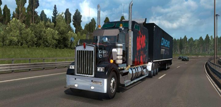 Photo of Kenworth W900 Long 28.02.21 ETS2 1.439