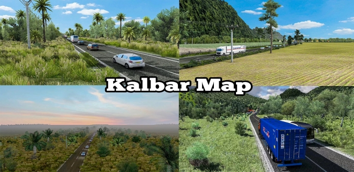 Photo of Map Of West Kalimantan ETS2 1.40