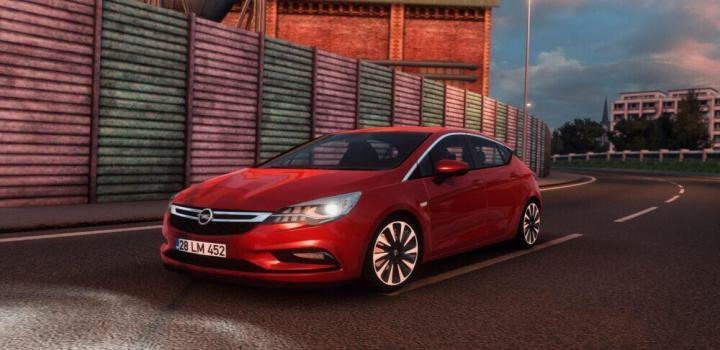 Photo of Opel Astra K R60 ETS2 1.40