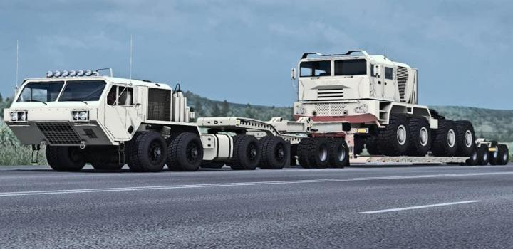 Photo of Oshkosh Defense Hemtt A4 ETS2 1.40