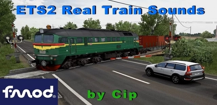 Photo of Real Train Sounds V1.0 ETS2 1.40