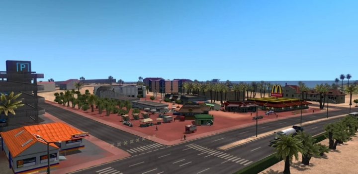 Photo of Red Sea Map V1.2.2 ETS2 1.40