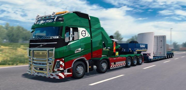 Photo of Rpie Volvo Fh16 2012 ETS2 1.40.0.122S