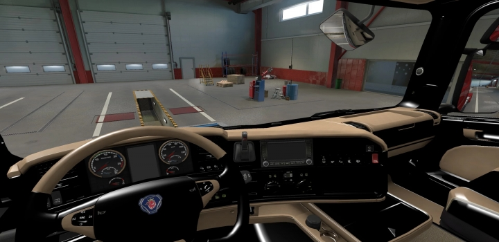 Photo of Scania R 2009 – Exclusive Beige Interior ETS2 1.40