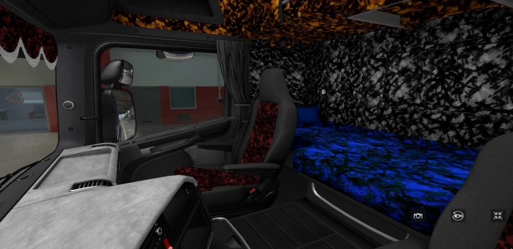 Photo of Scania Rjl Pack Interior ETS2 1.40
