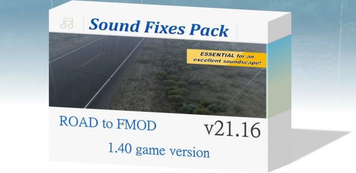 Photo of Sound Fixes Pack V20.16 ETS2 1.40