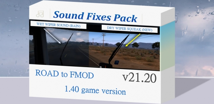 Photo of Sound Fixes Pack V21.20 ETS2 1.40