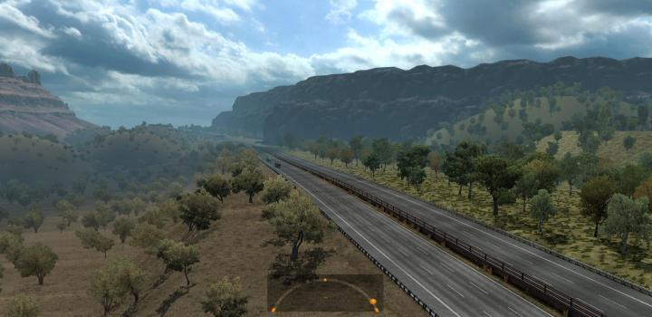 Photo of Vanessa Pashmina (Vanemap) V5.0 ETS2 1.40