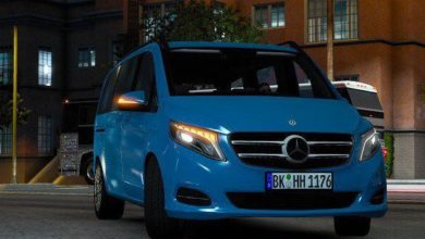 Photo of Mercedes-Benz Vito V-Class 2018 V4.0 ATS 1.40