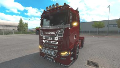 Photo of Scania Illegal S V1.0 ETS2 1.39