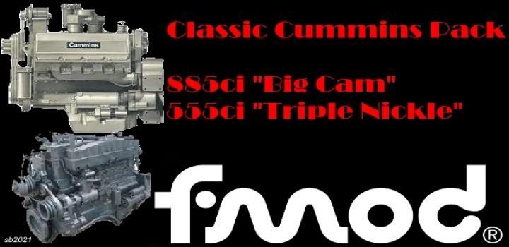 Photo of Classic Cummins Pack V1.0 ATS 1.40