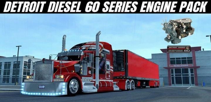 Photo of Detroit Diesel 60 Series Engine Pack V1.0 ATS 1.40