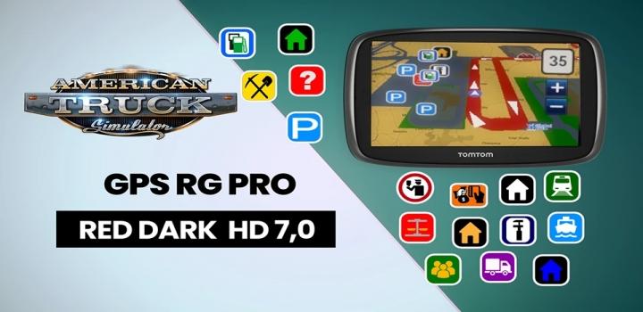 Photo of Gps Rg Pro Red Dark Hd V7.0 ATS 1.40