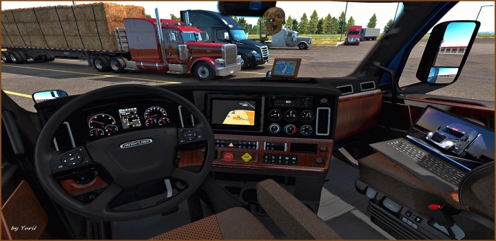 Photo of Interior For Freightliner Cascadia 2019 V0.9 ATS 1.39