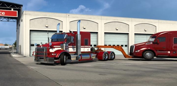 Photo of Kenworth T800 Custom Truck ATS 1.40