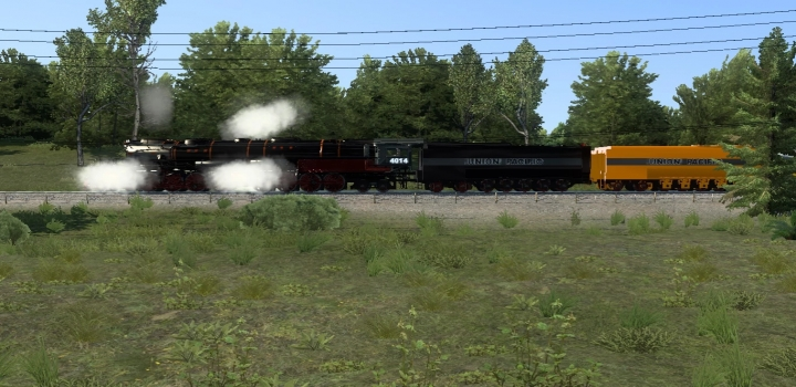 Photo of Long Trains Addon (Up To 150 Railcars) For Improved Trains V3.7.3 ATS 1.40