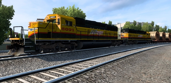 Photo of Real Traffic Density Compatibility Addon For Mod Improved Trains V3.7.3 ATS 1.40