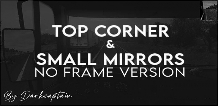 Photo of Top Corner & Small Mirrors [No Frame Version] V1.0 ATS 1.40