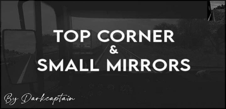 Photo of Top Corner & Small Mirrors V1.0 ATS 1.40