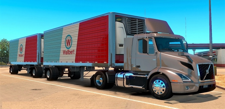 Photo of Volvo Vnr 2018 V1.26 ATS 1.40