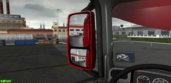 Photo of 3D Interior Mod V1.2 ETS2 1.40