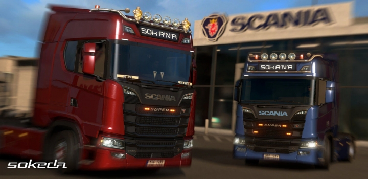 Photo of 50Keda Addon ETS2 1.40